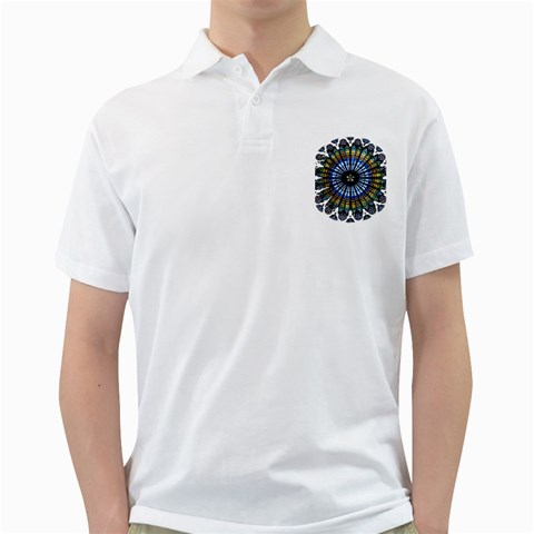 Rose Window Strasbourg Cathedral Golf Shirts