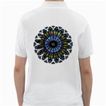 Rose Window Strasbourg Cathedral Golf Shirts Back