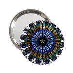 Rose Window Strasbourg Cathedral 2.25  Handbag Mirrors Front