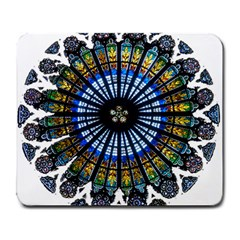 Rose Window Strasbourg Cathedral Large Mousepads
