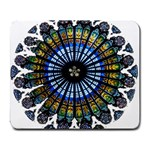 Rose Window Strasbourg Cathedral Large Mousepads Front