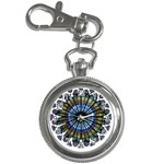 Rose Window Strasbourg Cathedral Key Chain Watches Front