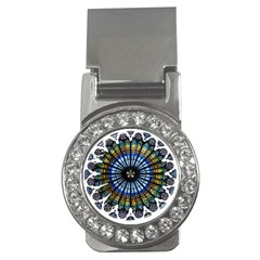 Rose Window Strasbourg Cathedral Money Clips (CZ)