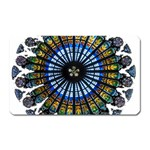 Rose Window Strasbourg Cathedral Magnet (Rectangular) Front