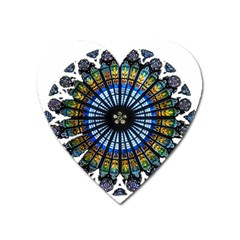 Rose Window Strasbourg Cathedral Heart Magnet