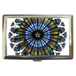 Rose Window Strasbourg Cathedral Cigarette Money Cases Front