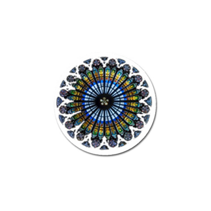 Rose Window Strasbourg Cathedral Golf Ball Marker
