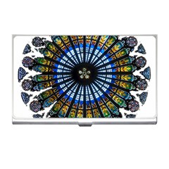 Rose Window Strasbourg Cathedral Business Card Holders