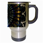 Rose Window Strasbourg Cathedral Travel Mug (Silver Gray) Right