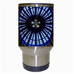 Rose Window Strasbourg Cathedral Travel Mugs (White) Center