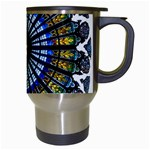 Rose Window Strasbourg Cathedral Travel Mugs (White) Right