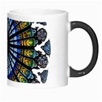 Rose Window Strasbourg Cathedral Morph Mugs Right