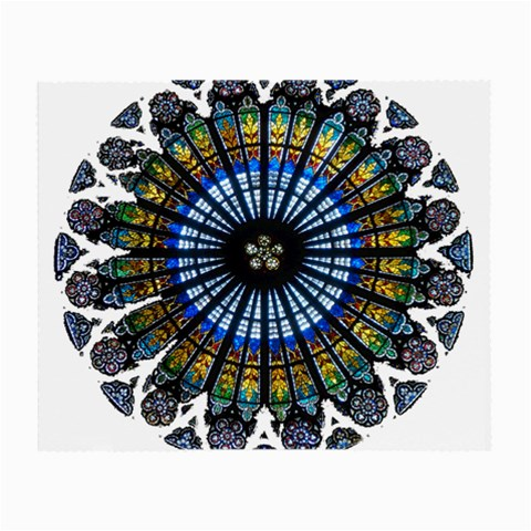 Rose Window Strasbourg Cathedral Small Glasses Cloth