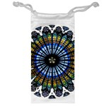 Rose Window Strasbourg Cathedral Jewelry Bags Front