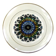 Rose Window Strasbourg Cathedral Porcelain Plates