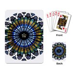 Rose Window Strasbourg Cathedral Playing Card Back