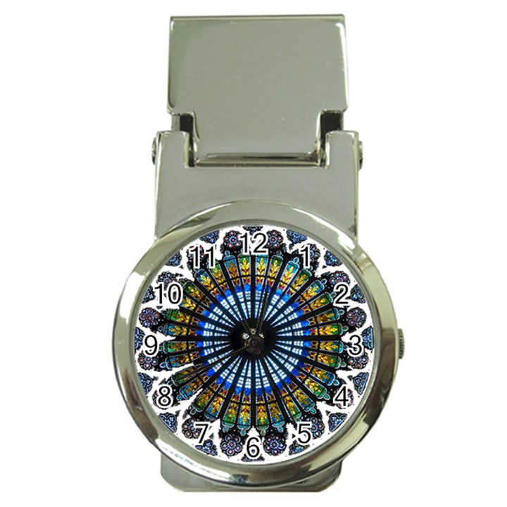 Rose Window Strasbourg Cathedral Money Clip Watches