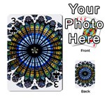 Rose Window Strasbourg Cathedral Playing Cards 54 Designs  Front - Club3