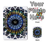 Rose Window Strasbourg Cathedral Playing Cards 54 Designs  Front - Joker1