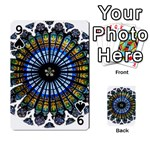 Rose Window Strasbourg Cathedral Playing Cards 54 Designs  Front - Spade9