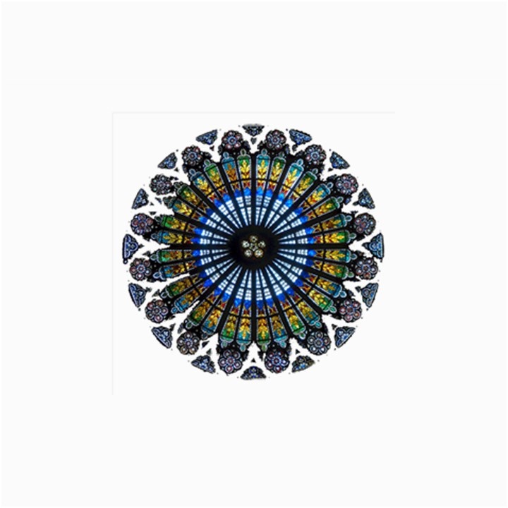 Rose Window Strasbourg Cathedral Collage Prints