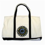 Rose Window Strasbourg Cathedral Two Tone Tote Bag Front