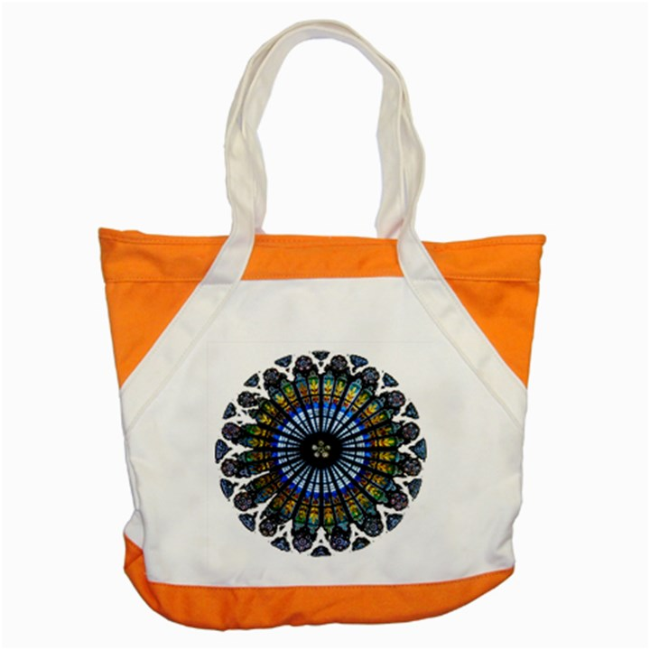 Rose Window Strasbourg Cathedral Accent Tote Bag