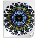 Rose Window Strasbourg Cathedral Canvas 8  x 10  10.02 x8 Canvas - 1