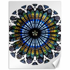 Rose Window Strasbourg Cathedral Canvas 12  x 16