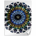 Rose Window Strasbourg Cathedral Canvas 12  x 16   16 x12 Canvas - 1