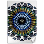 Rose Window Strasbourg Cathedral Canvas 12  x 18   18 x12 Canvas - 1