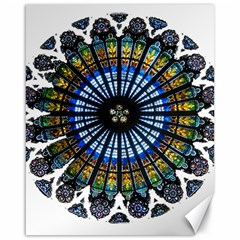 Rose Window Strasbourg Cathedral Canvas 16  x 20