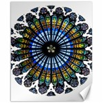 Rose Window Strasbourg Cathedral Canvas 16  x 20   20 x16 Canvas - 1