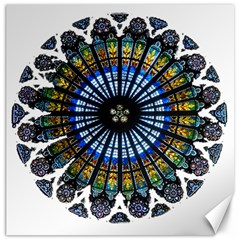 Rose Window Strasbourg Cathedral Canvas 20  x 20