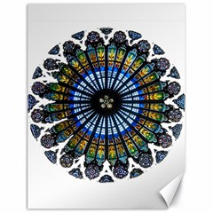 Rose Window Strasbourg Cathedral Canvas 18  x 24