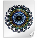 Rose Window Strasbourg Cathedral Canvas 20  x 24   24 x20 Canvas - 1