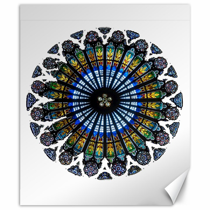 Rose Window Strasbourg Cathedral Canvas 20  x 24