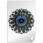 Rose Window Strasbourg Cathedral Canvas 20  x 30   30 x20 Canvas - 1