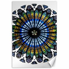 Rose Window Strasbourg Cathedral Canvas 24  x 36