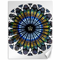 Rose Window Strasbourg Cathedral Canvas 36  x 48