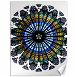 Rose Window Strasbourg Cathedral Canvas 36  x 48   48 x36 Canvas - 1