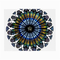 Rose Window Strasbourg Cathedral Small Glasses Cloth (2-Side)