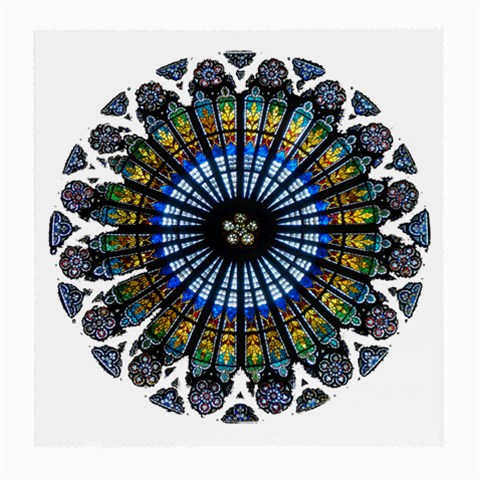 Rose Window Strasbourg Cathedral Medium Glasses Cloth (2-Side)