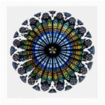 Rose Window Strasbourg Cathedral Medium Glasses Cloth (2-Side) Front