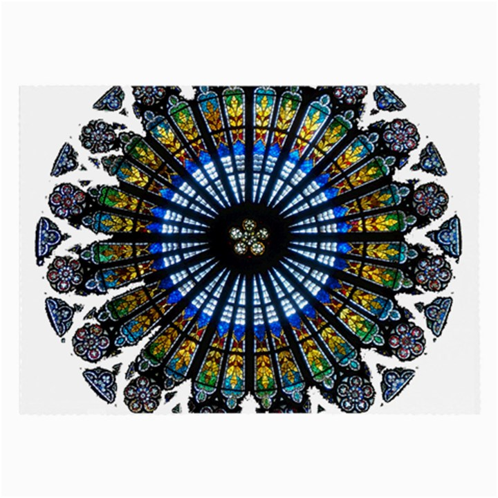 Rose Window Strasbourg Cathedral Large Glasses Cloth