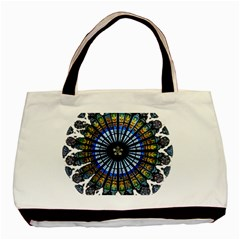 Rose Window Strasbourg Cathedral Basic Tote Bag (Two Sides)