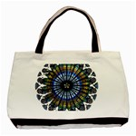 Rose Window Strasbourg Cathedral Basic Tote Bag (Two Sides) Front
