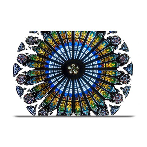 Rose Window Strasbourg Cathedral Plate Mats