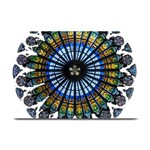 Rose Window Strasbourg Cathedral Plate Mats 18 x12 Plate Mat - 1