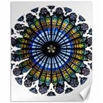 Rose Window Strasbourg Cathedral Canvas 11  x 14   14 x11 Canvas - 1
